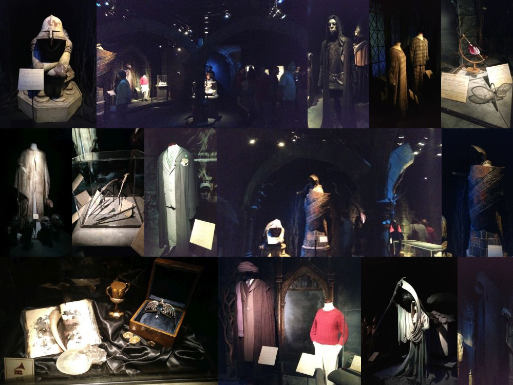 The dark side of the Harry Potter Exhibition, Utrecht
