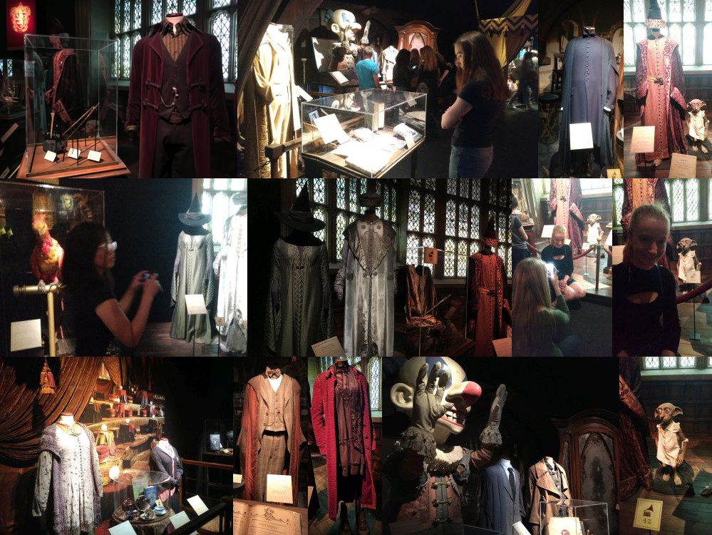 Teachers at the Harry Potter Exhibition, Utrecht