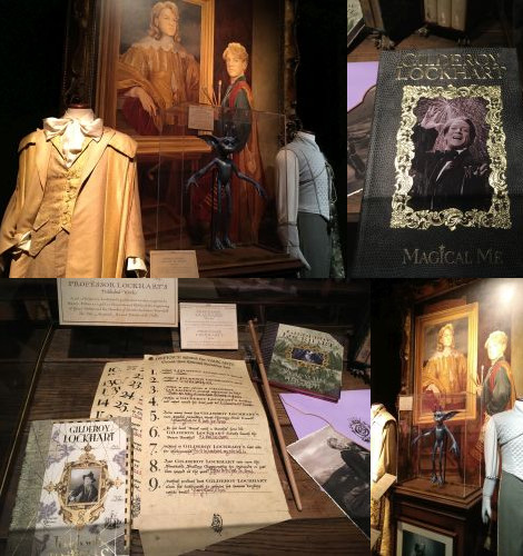 Gilderoy Lockhart at the Harry Potter Exhibition, Utrecht