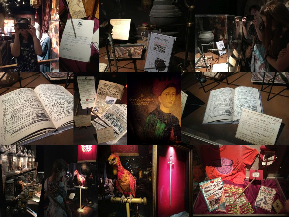 Potions at the Harry Potter Exhibition, Utrecht