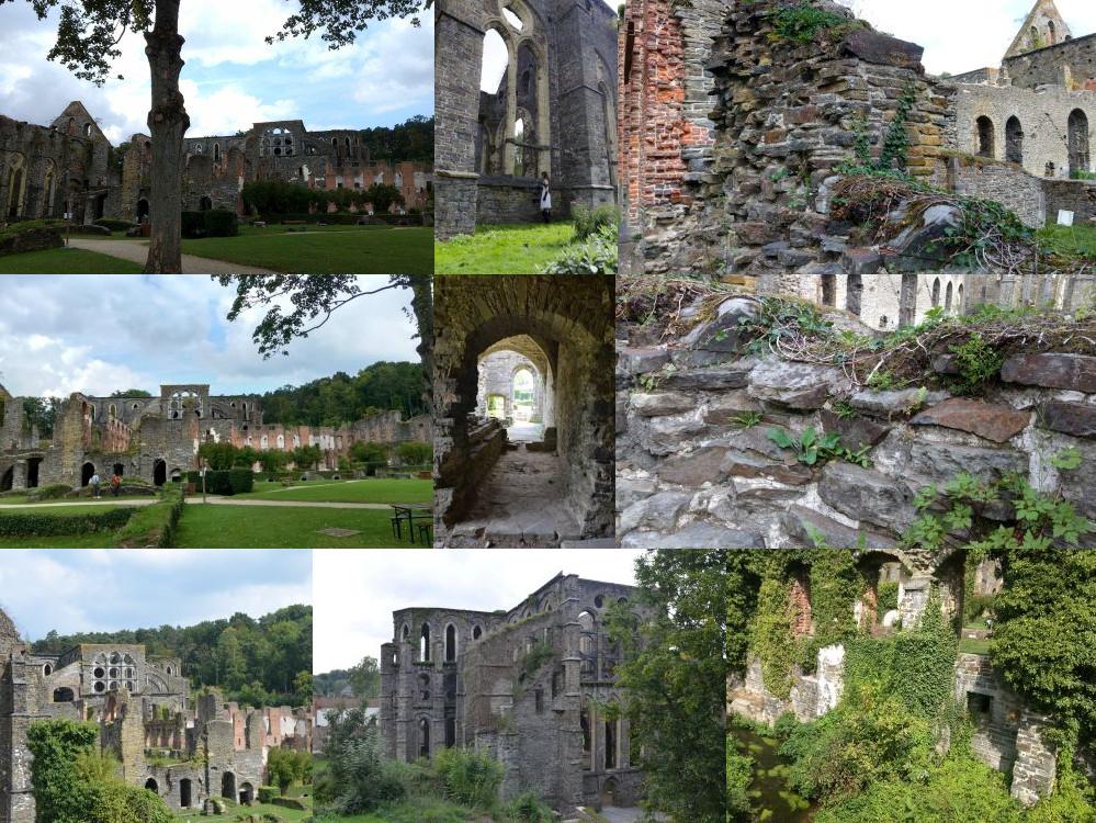 Villers Abbey in Villers-la-Ville