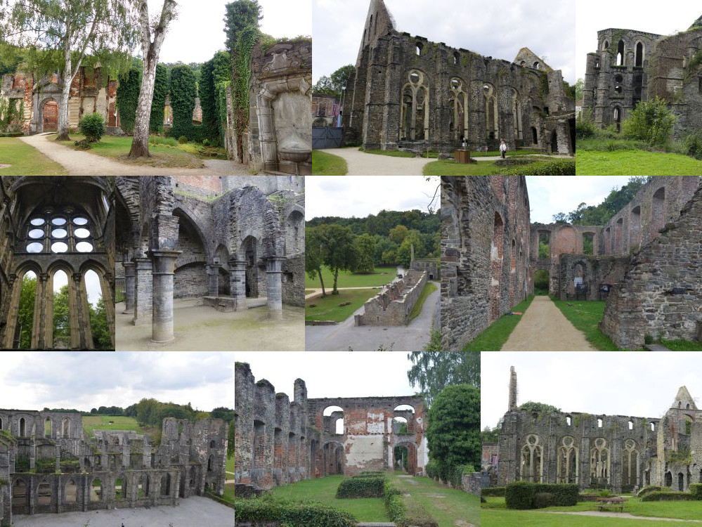 Villers Abbey in Villers-la-Ville