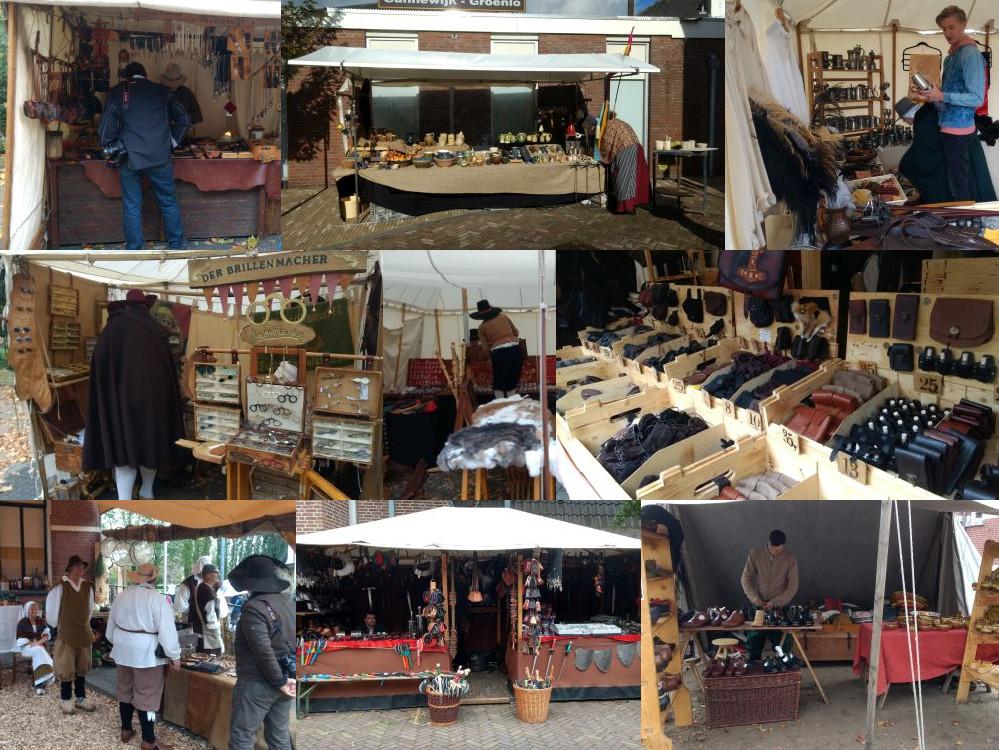 Market in Grolle