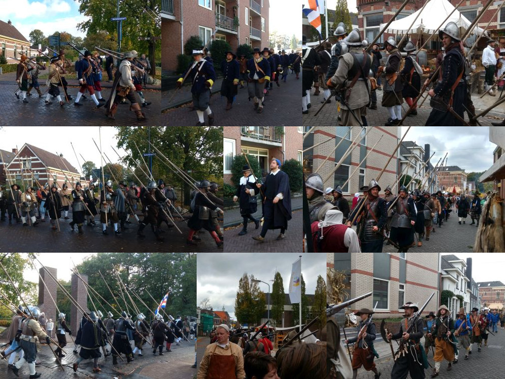 Parades in Grolle.