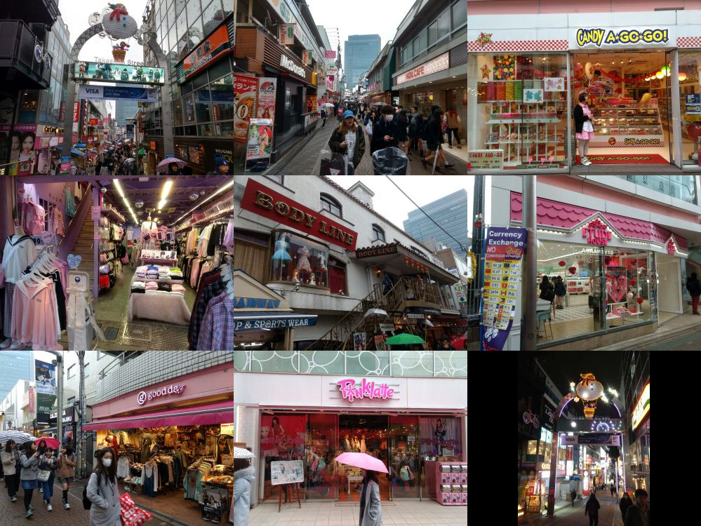 Takeshita-doori in Tokyo
