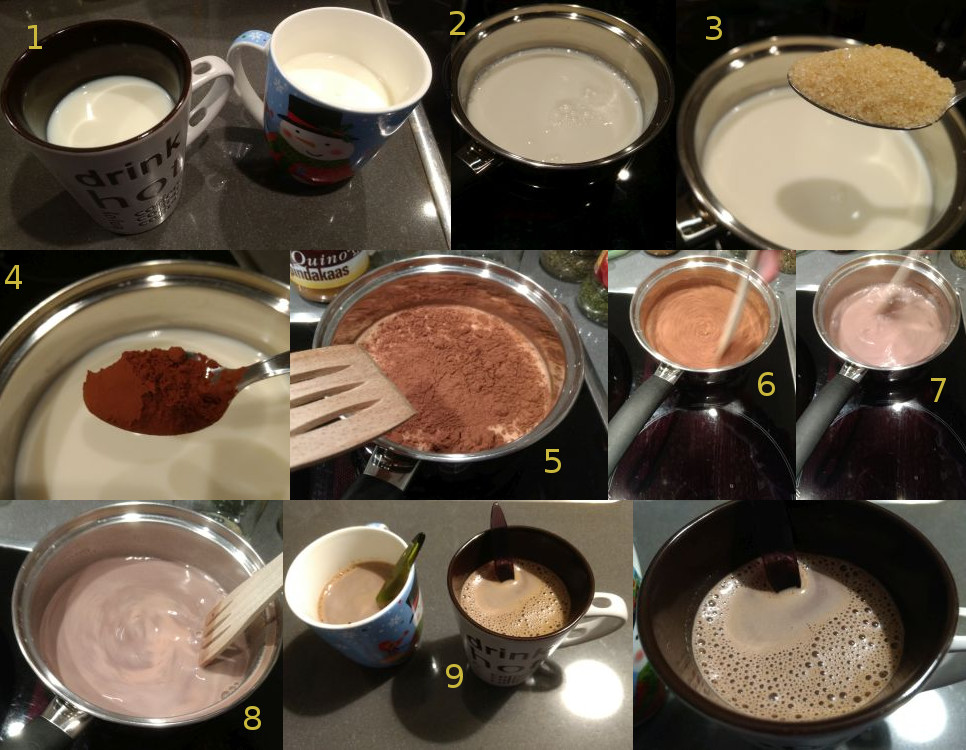 Chocolate milk recipe