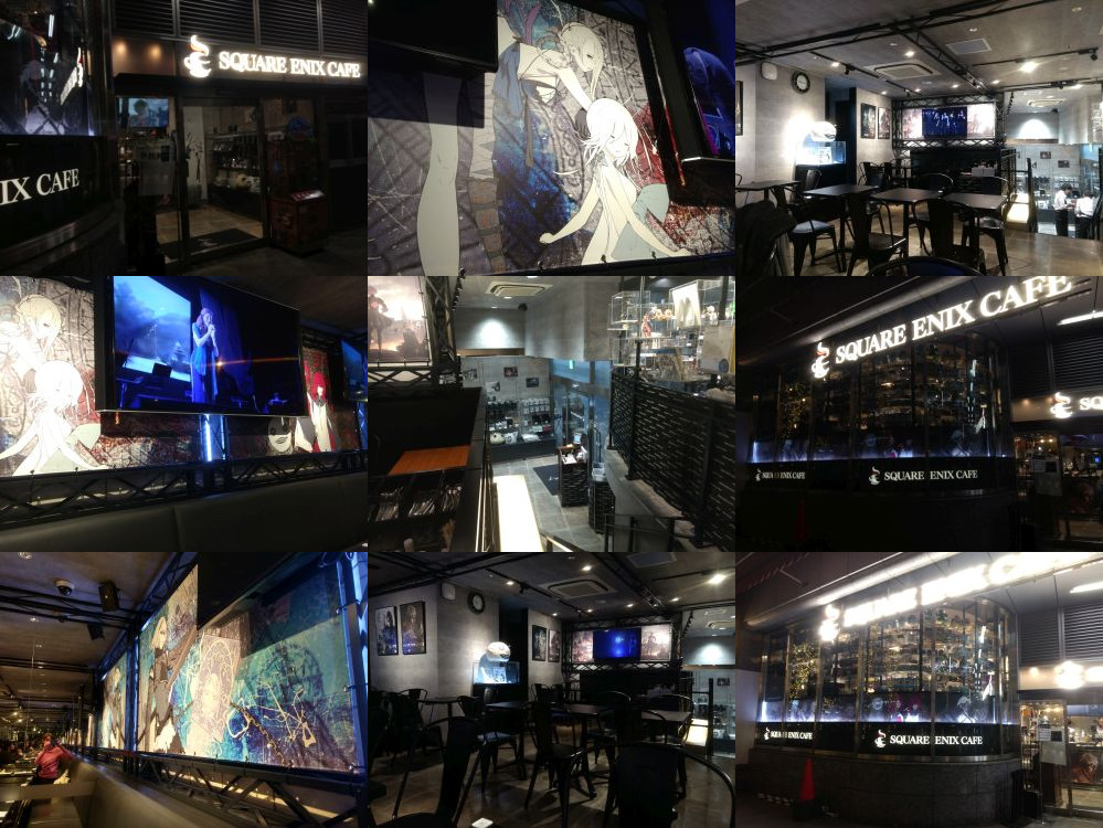 Square Enix Cafe restaurant