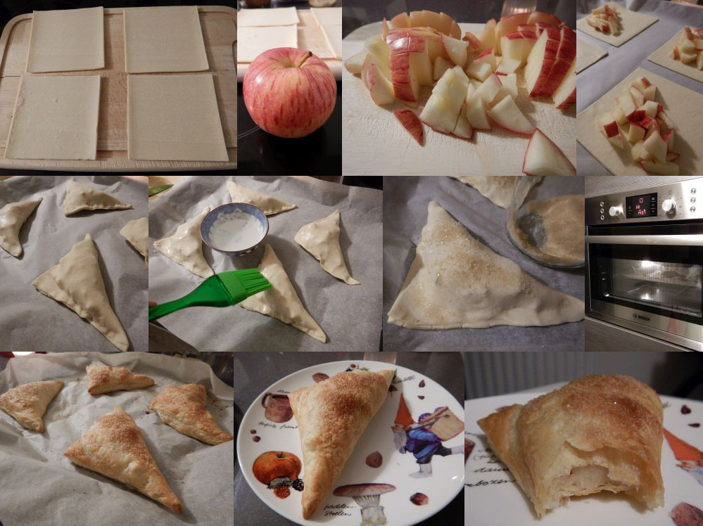 Appelflappen recipe (Dutch apple pastries)