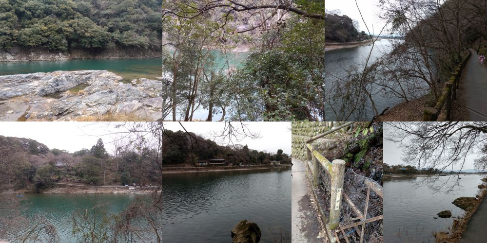 Walking to Daihikaku Senkouji