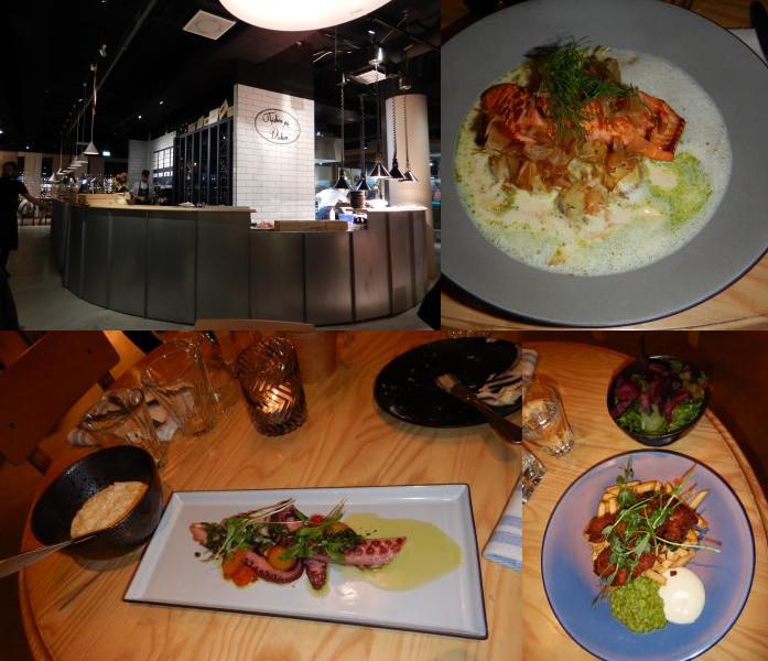 ヘルシンキの魚料理レストランFisken på Disken