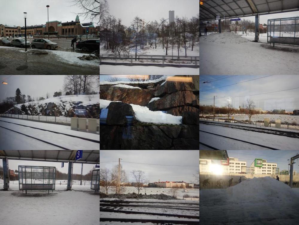 Stations in Helsinki, FInland