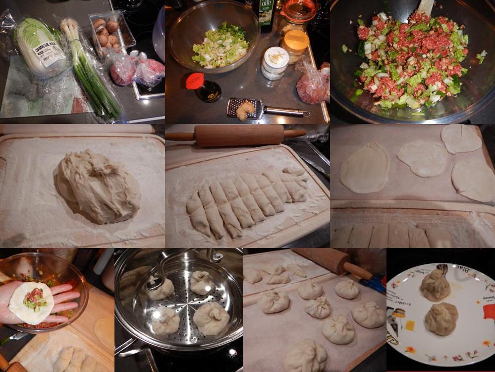 gestoomde broodjes maken