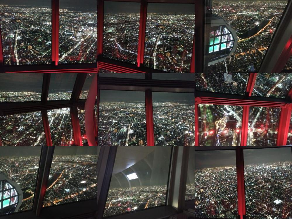 Tokyo Sky Tree night view