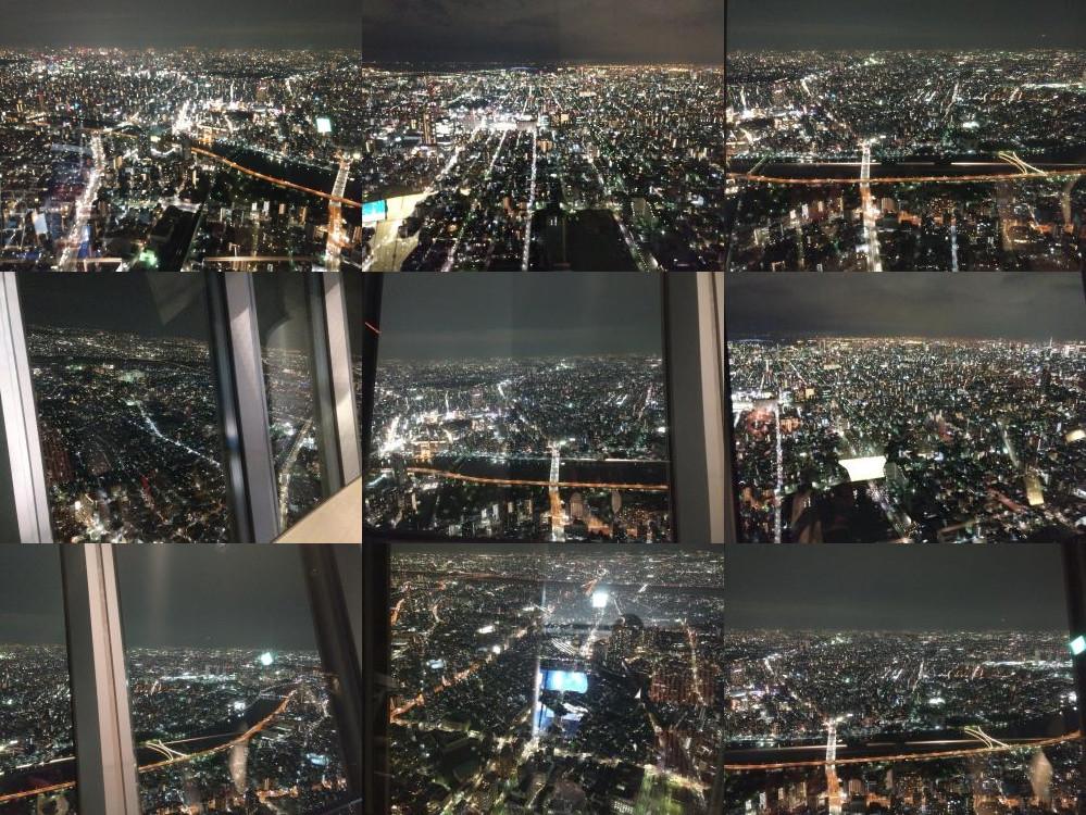 Tokyo Sky Tree by night