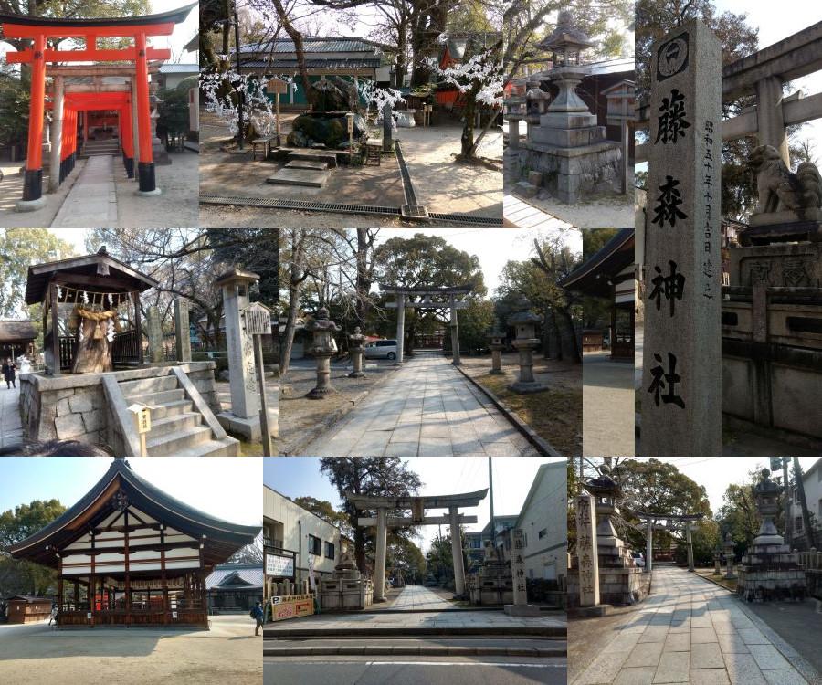 Fujinomori Jinja in Kyoto