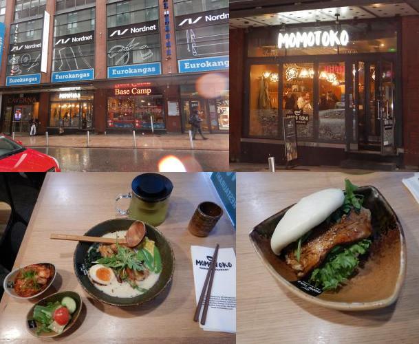 Momotoko Yliopistonkatu noodle restaurant, Helsinki, Finland