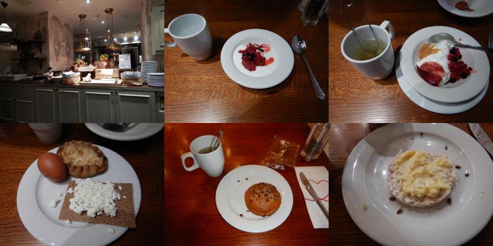 Breakfast in Original Sokos Hotel, Helsinki