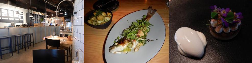 """Fisken på Disken"" restaurant in Helsinki, Finland"