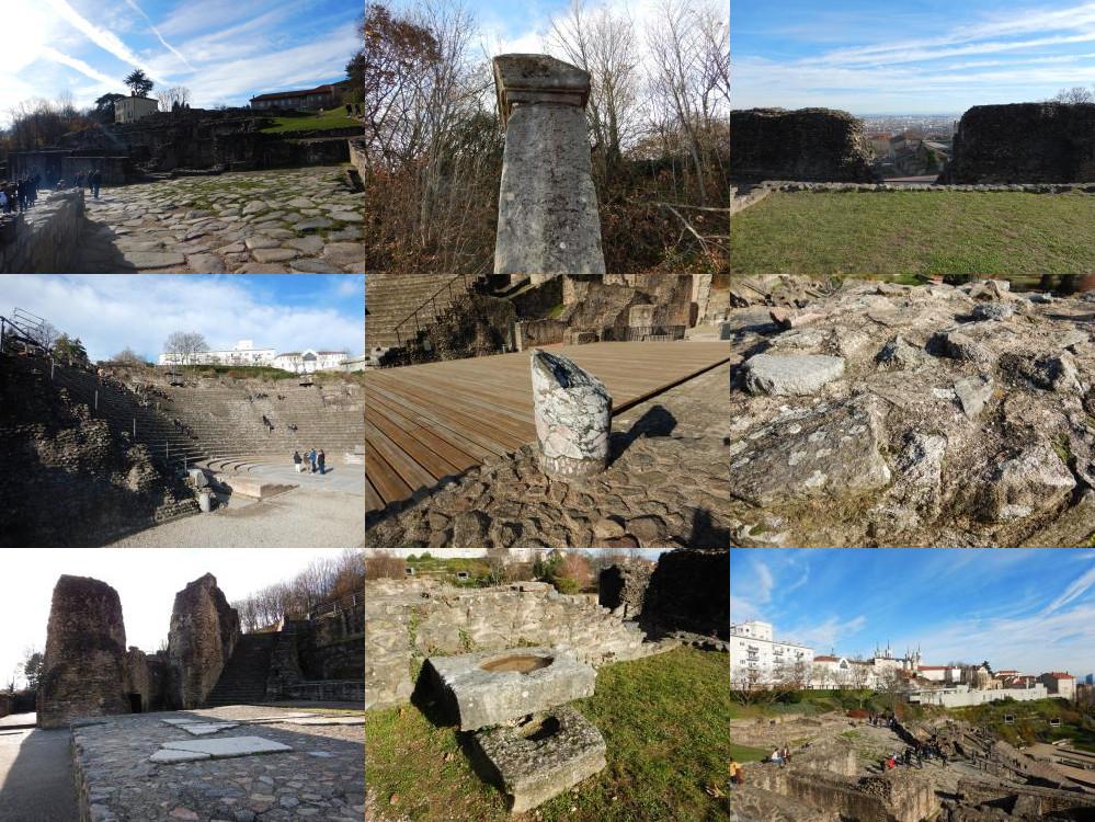 Lugdunum ruins, Lyon