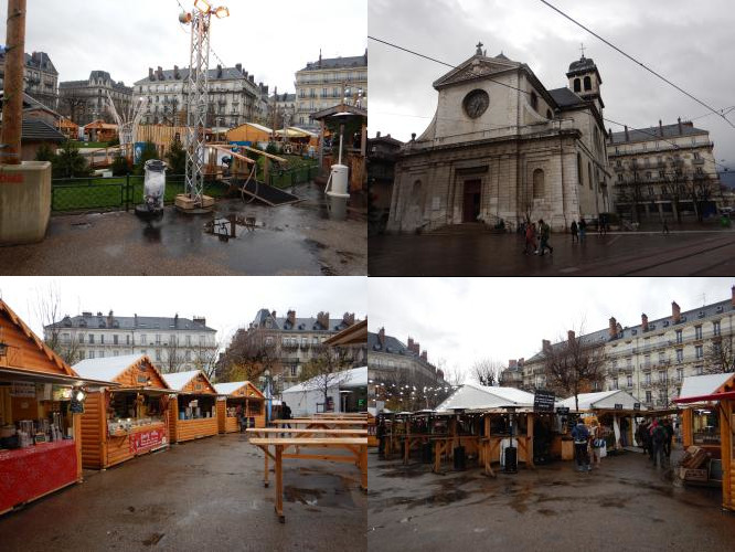 Grenoble Christmas market