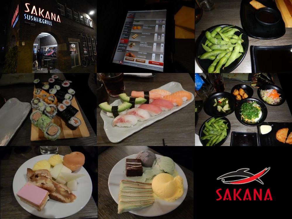 SAKANA sushi restaurant in Eindhoven