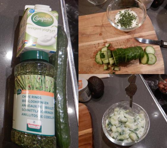 Komkommer-yoghurt-dressing