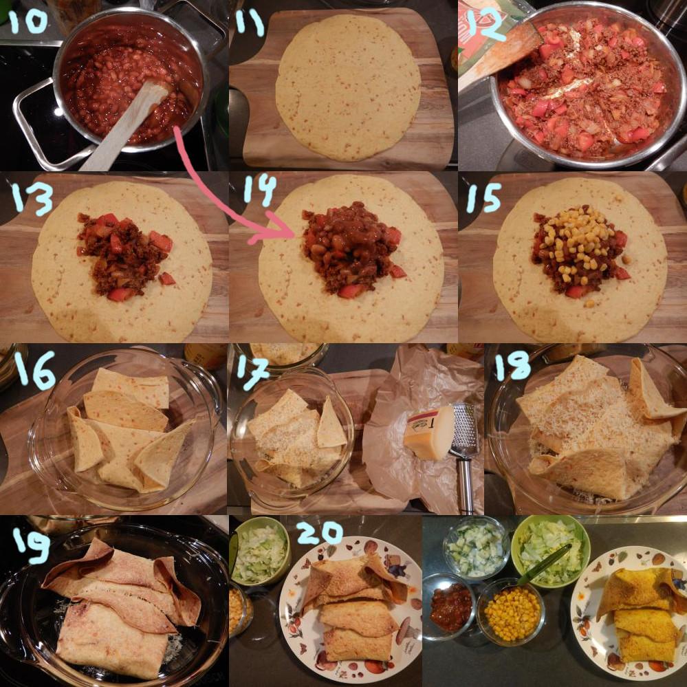 Wraps recept