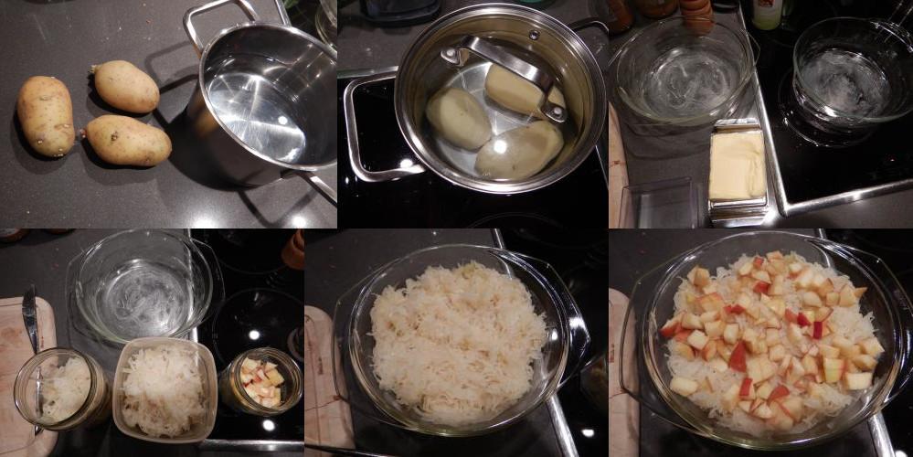 Zuurkool uit de oven