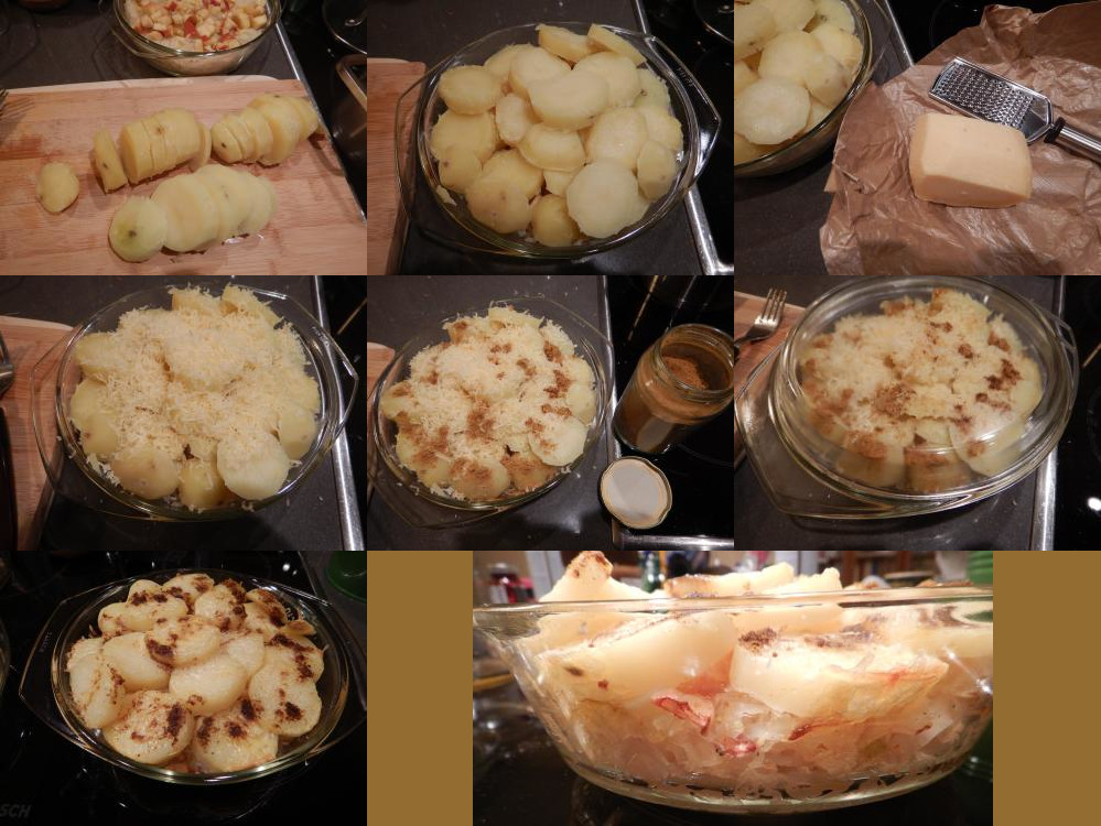 Sauerkraut from the oven recipe