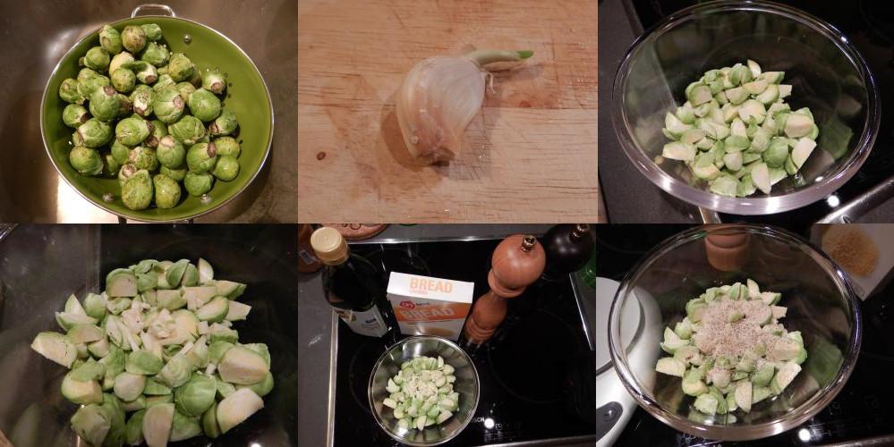 Spruitjes uit de oven recept