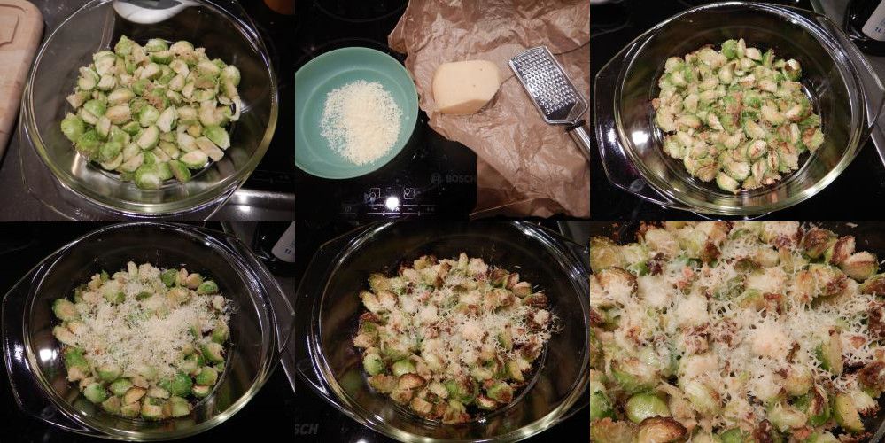 Oven-baked Brussels sprouts recipe